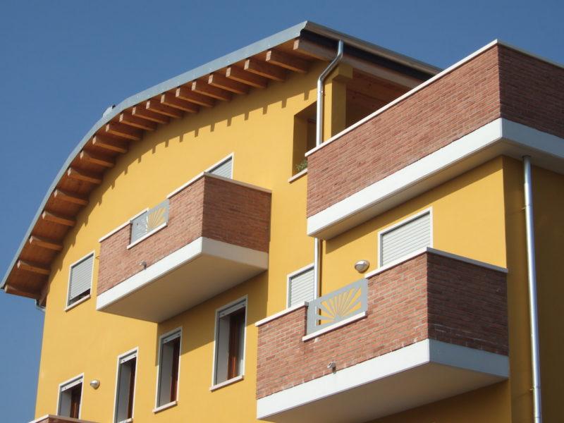 Edificio per appartamenti a graspo d 39 uva spinea ve for Costo per costruire un edificio